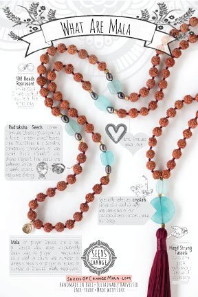 Postcard-Back Everything You Need to Know About Mala Beads Healing Crystals Learning Meditation